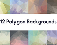 Free Polygon Backgrounds :V1