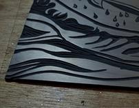 "LINO prints ""linoleum"""