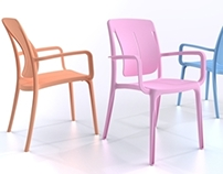 Playmood Armchair - 2014 - Naterial LM by Grosfillex