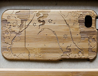 Bamboo iPhone Case Design
