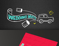 Wedding Invite - Game + Infographic