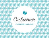 Castromar congelados // visual identity