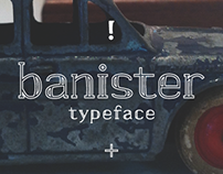 banister typeface