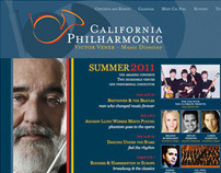 California Philharmonic Website