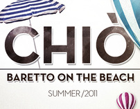 Chiò - baretto on the beach