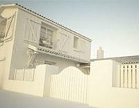 Exterior Architectural design_European rural اhouse