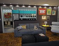 Retrofit Kitchen/Living Room