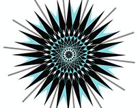 Snowflake Geometry Winter Gear Design