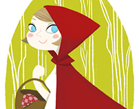 Little Red Riding Hood (Character Design)