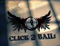 CLICK 2 BAIL | Logo Design