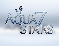 AQUA 7 STARS | Logo Design