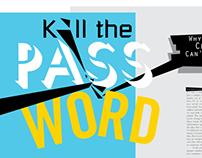 Killing The Password Magazine Spread