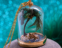 Miniature Terrarium Necklaces