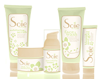 Soie Skincare Packaging Design