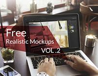 Free Realistic Mockups