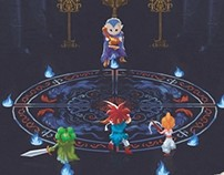 Chrono Trigger poster serie