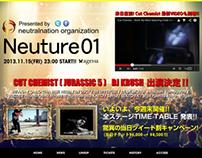 Neuture01 website