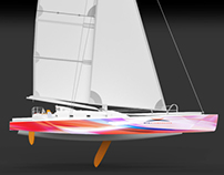 "Trimaran ""So What"" - 2014 - Mer & Composites / L.Parra"