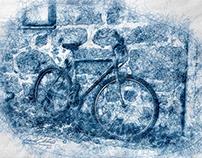 """Scribbled Bikes"""