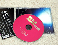 black diamond CD package