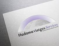Hadama Viatges Services · Logo & Website