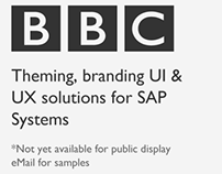 Theming, branding UI and UX solutions for SAP Systems