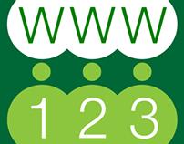 App logo and website design