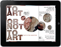 e-Publishing: 'To Art or Not to Art'