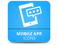 Mobile Application Icons Pack