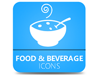 Food & Beverage Icons