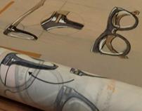 Eyeglasses - sketches