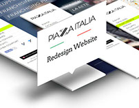Piazza Italia | Redesign responsive website