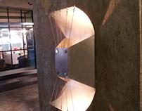 Eisern: Industrial-style Light Sconce