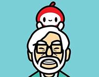 Hayao Miyazaki Fanart