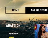 TV Channel Website