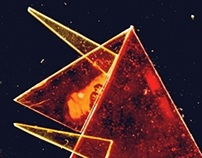 Triangles in space- animation tests