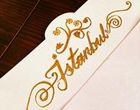 Calligraphy, lettering, kaligrafi, hat