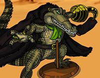 Sir Crocodile as Nile Crocodile
