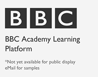 BBC Academy Learning Platform
