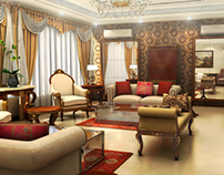 Drawing Room | 3D Visualization | Interior