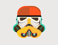Star Wars fan art - Stormtrooper Animation