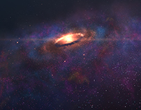 Free HD Galaxy Seamless Loop - Stock Footage