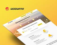 Wozward website
