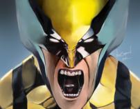 Digital Painting - Creating Wolverine