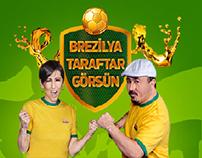Castrol-Brezilya Taraftar Görsün