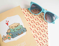 Travel Journals | NutsforPaper - Handmade Notebooks