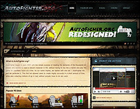 AutoFighter.org Web UI