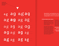 Savvy – A Manual of Typography