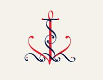 Ilustración tipográfica. Banco de Costa Rica