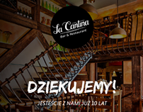 La Cantina - project of ad for magazines